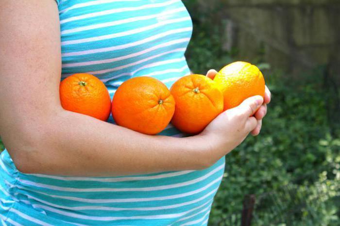 Апельсин для беременных польза 95