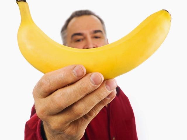 Бананы в сперме