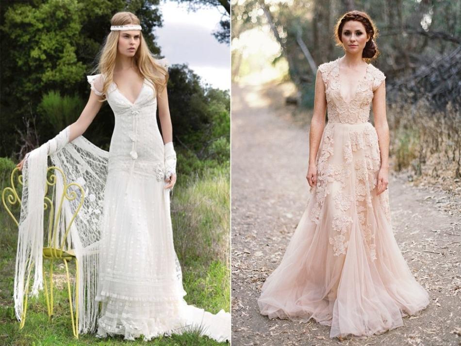 Как сшить платье в свадебном стиле 565