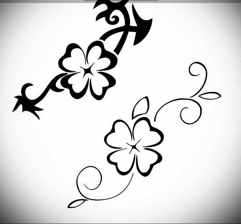 Татуировки узоры для девушек