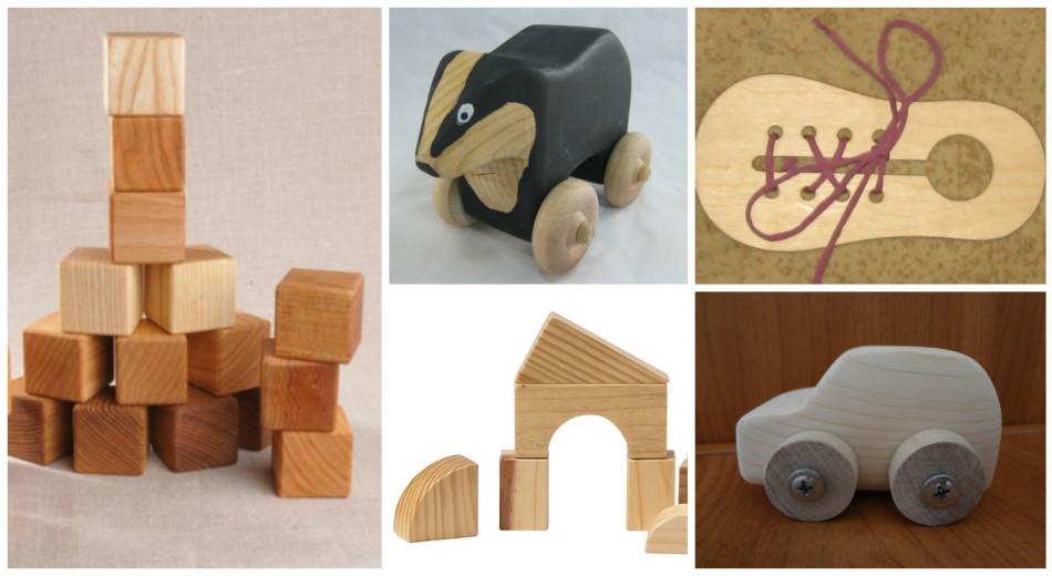 Как изготовить деревянные игрушки
