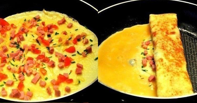 Омлет по каталонски пошаговый рецепт с фото