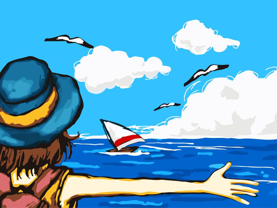 Картинка отдых на море