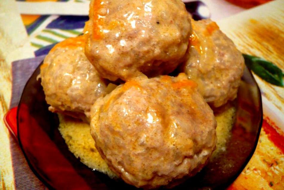ежики в томатной пасте и майонезе рецепт с фото