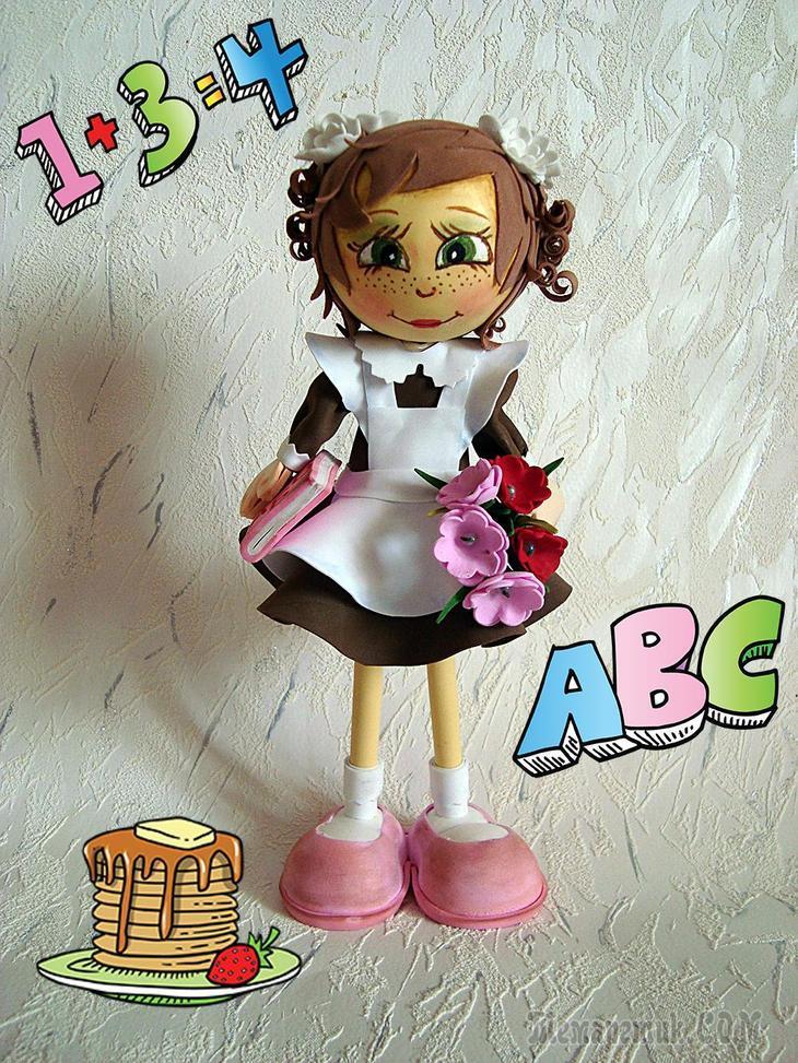 Посмотреть как сделать куклу из фоамирана