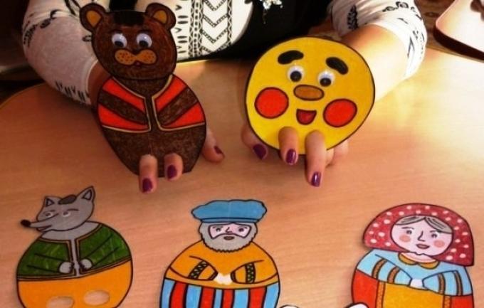 Бумажный кукольный театр своими руками 16
