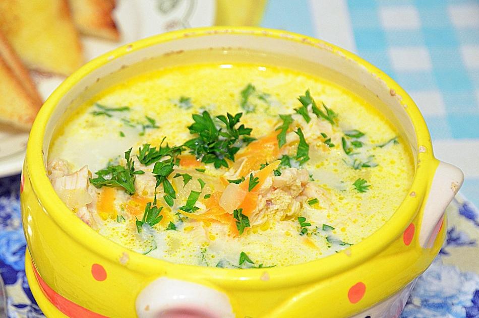 Рецепт супа с сырками