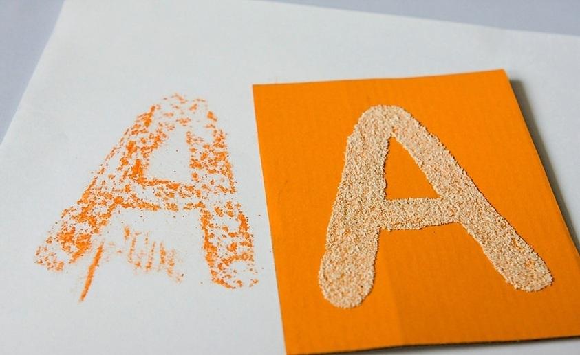 картинка аппликация 6 букв