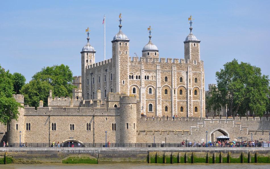 Лондонский тауэр (tower of london – fortress and former royal residence)