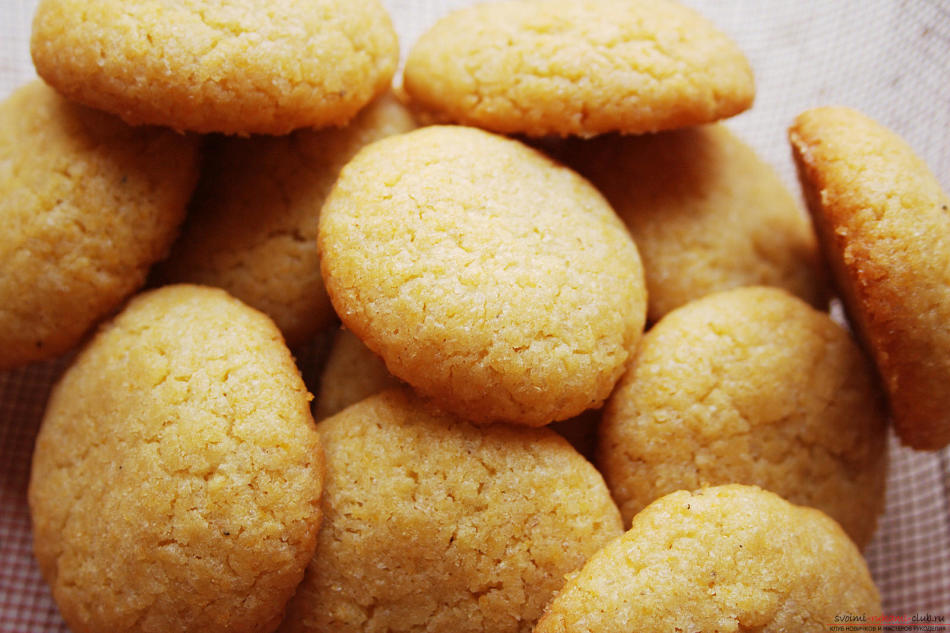 Кукурузные печенья рецепт