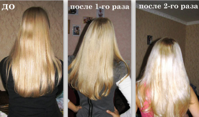 Осветлитель для волос Все про уход за волосами 61