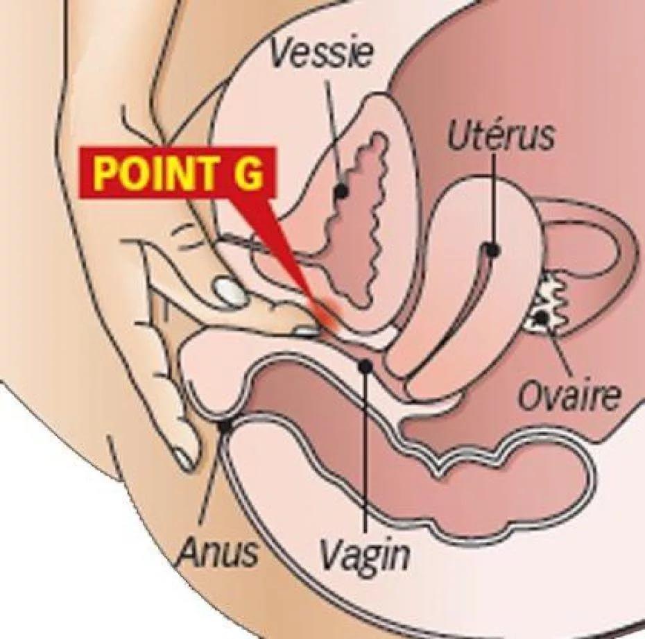 Оргазм с помощью точкиg