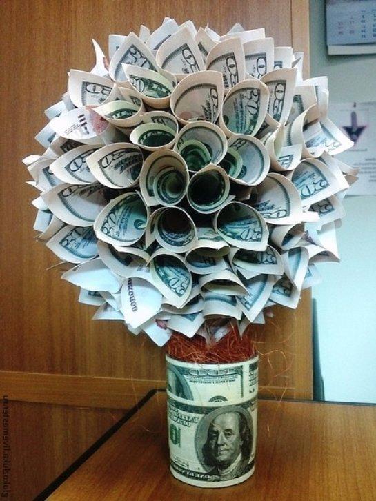 Купить денежная дерева сделана своими руками
