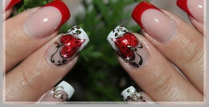 Ногти жидкие камни
