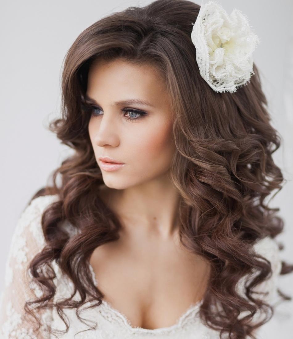 Свадебные укладки на средние волосы фото
