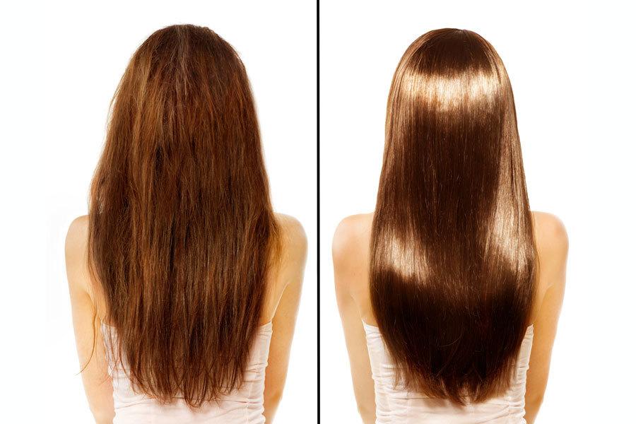 Масло от сечения волос касторовое