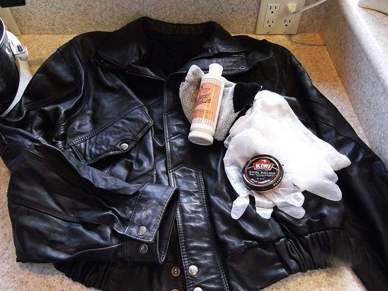 Как привести кожаную куртку в порядок в домашних условиях