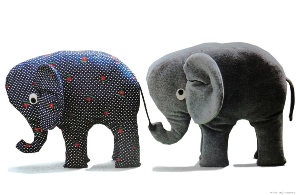 Плоские мягкие игрушки своими руками