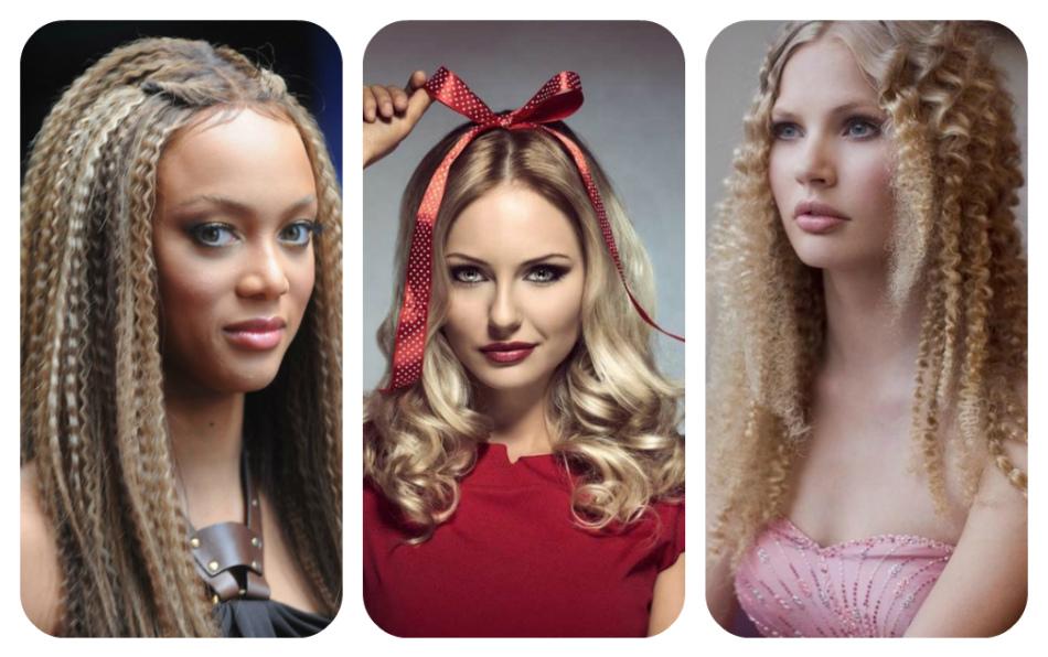 прически из искусственных волос фото