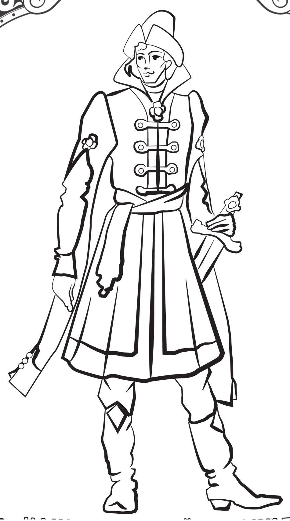 Как нарисовать иван царевича 74