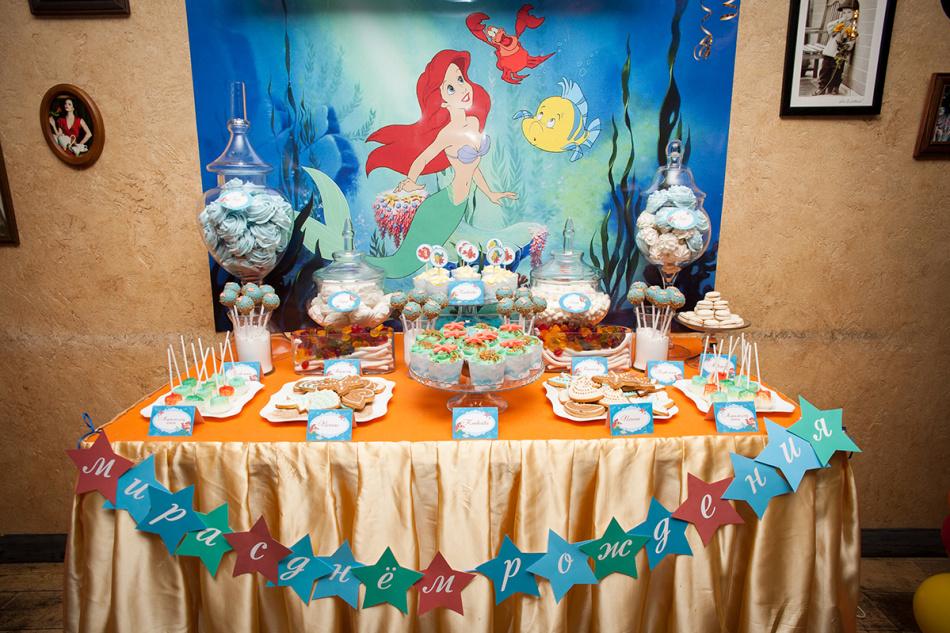 Сладкий стол на день рождения ребенка. Рецепты 83