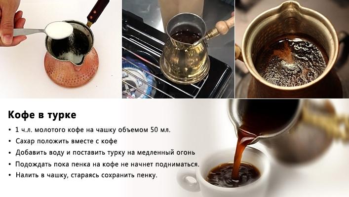 Как сделать вкусный кофе на турке