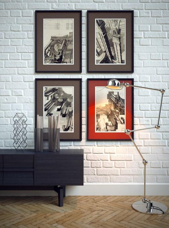 Картина на стену в прихожей