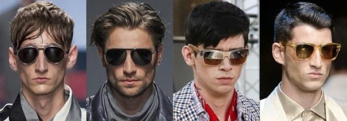 Мужские солнечные очки: мода 2018