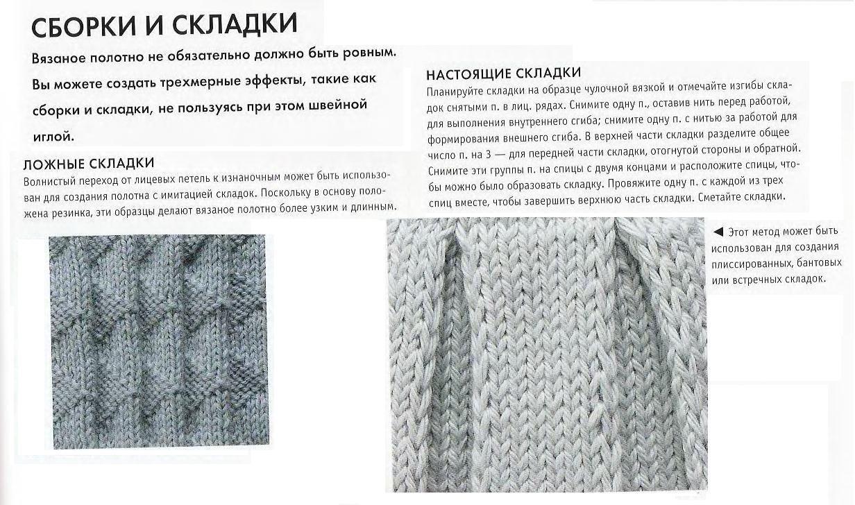 Вязание спицами юбок гофре для девочек