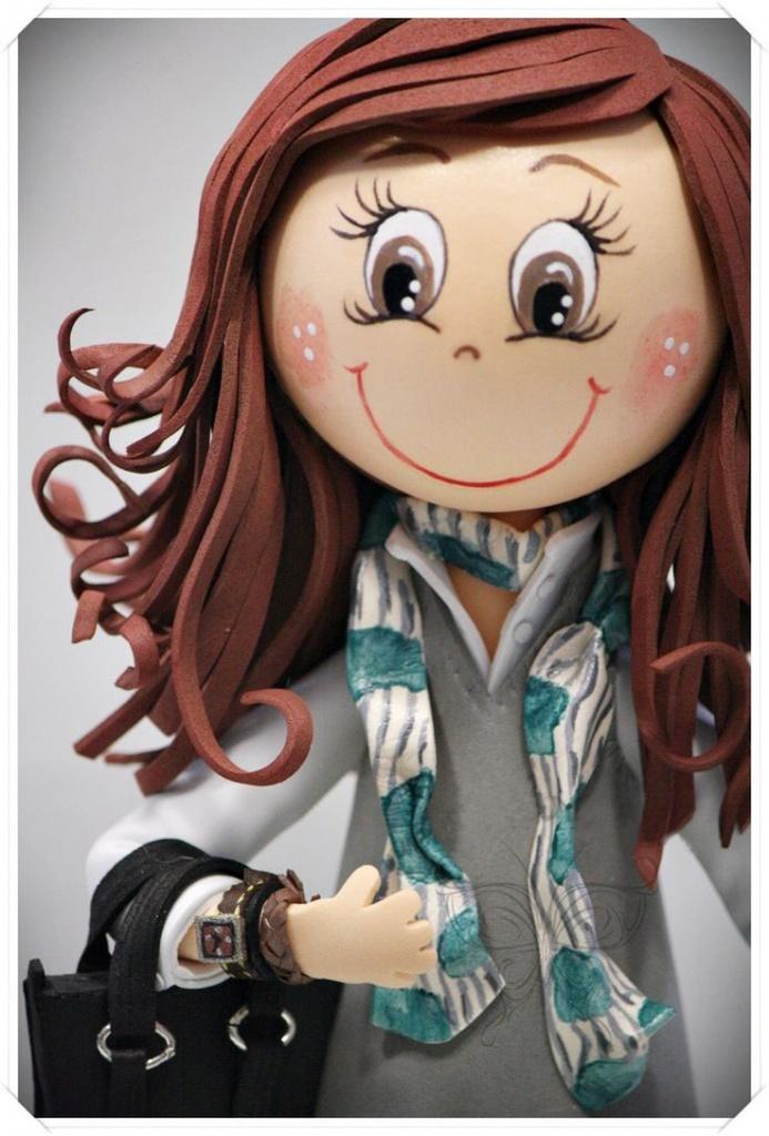 Кукол из фоамирана своими руками 431