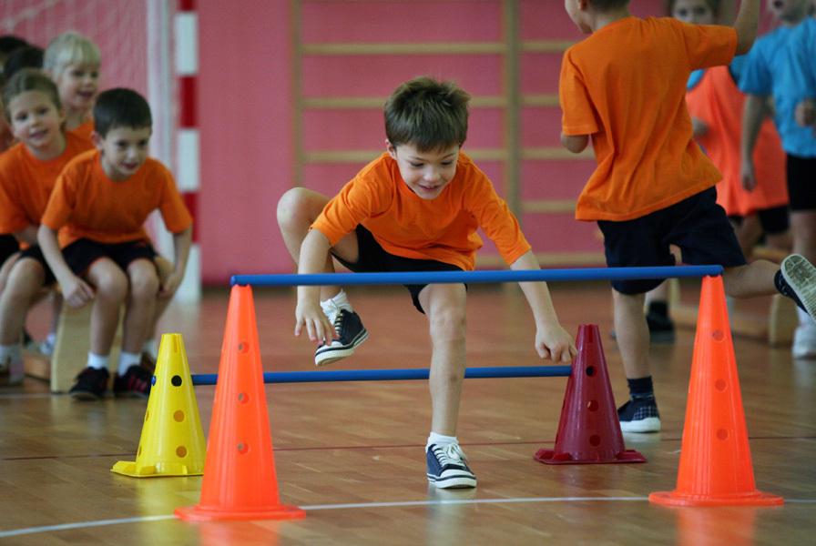 Спортивные конкурсы по командам для детей