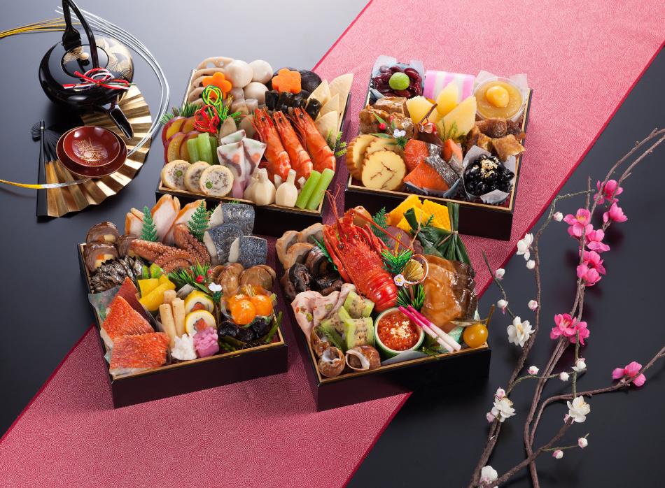Японский ресторан на новый год