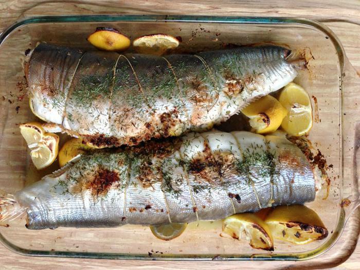 Как приготовить рыбу горбушу в духовке