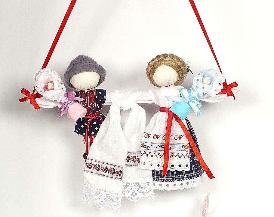 Куклы обереги для молодоженов своими руками