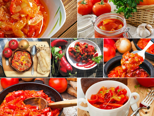 перец болгарский на зиму рецепты с фото пошагово