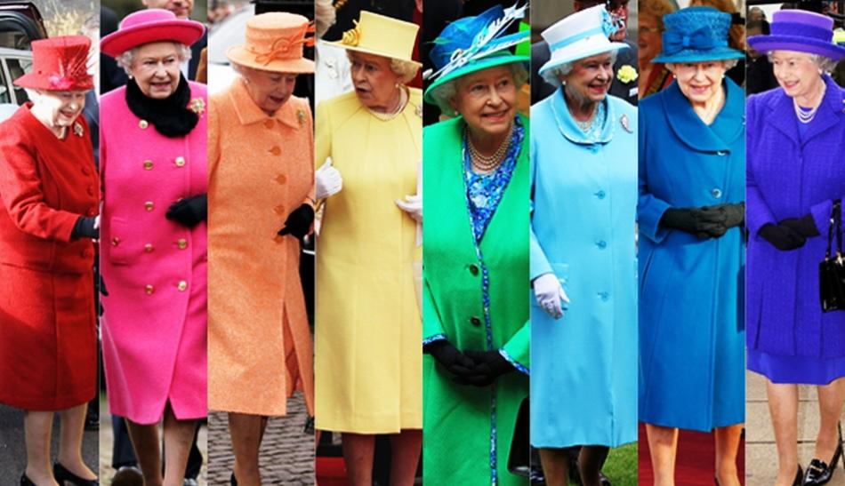 Королева великобритании елизавета ii и ее наряды