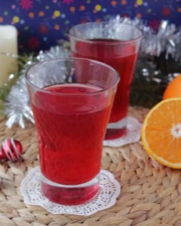 Морс с апельсиновым соком