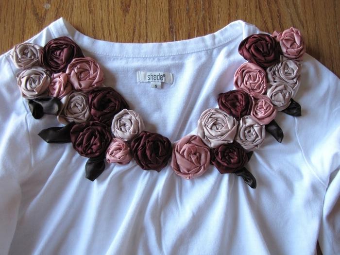 Декоративные украшения платьев