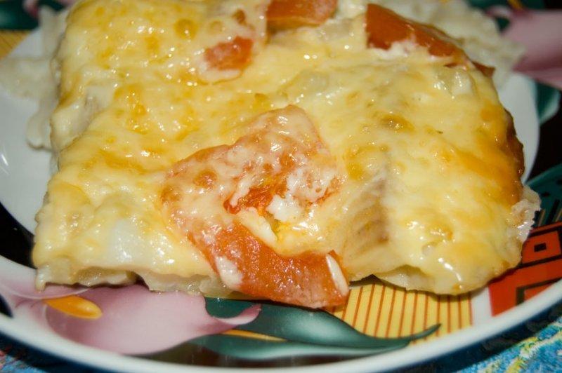 Запеченная треска с сыром рецепт с пошагово