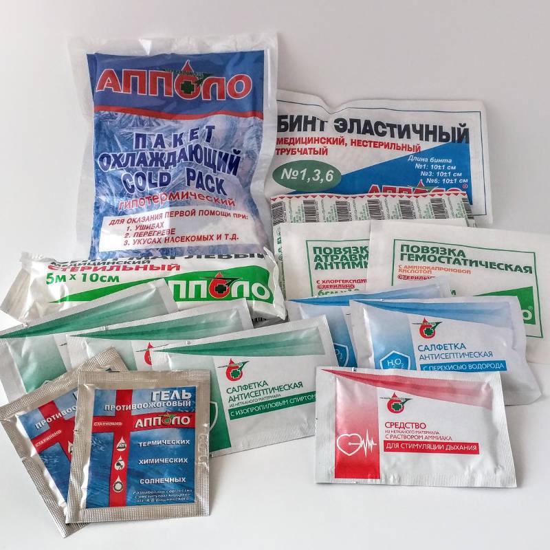 Аптечка для тревожного чемоданчика