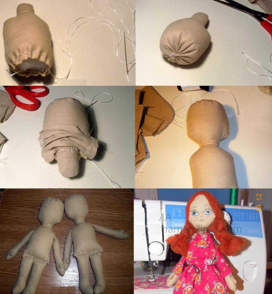 Как сделать куклу своими руками каркасную 10