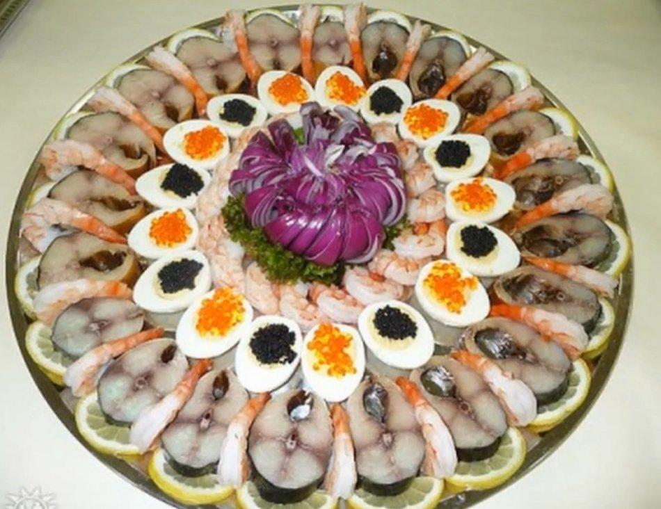 Как правильно нарезать рыбу на праздничный стол пошагово