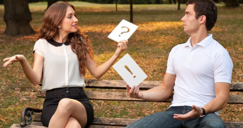 женщинам знакомстве при к вопросы