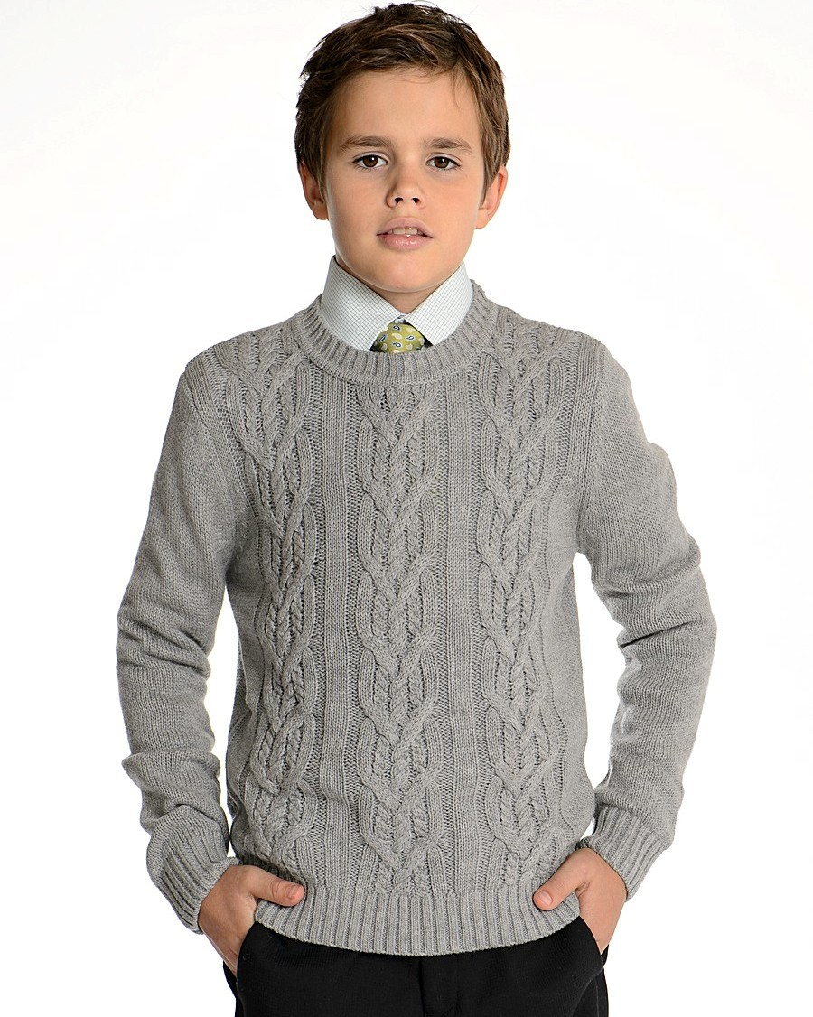 Вязаные модели для мальчиков 11 - 14 лет - Вязание - Страна Мам