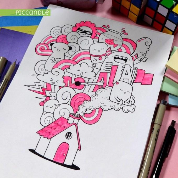 Как нарисовать рисунки для личного дневника фото