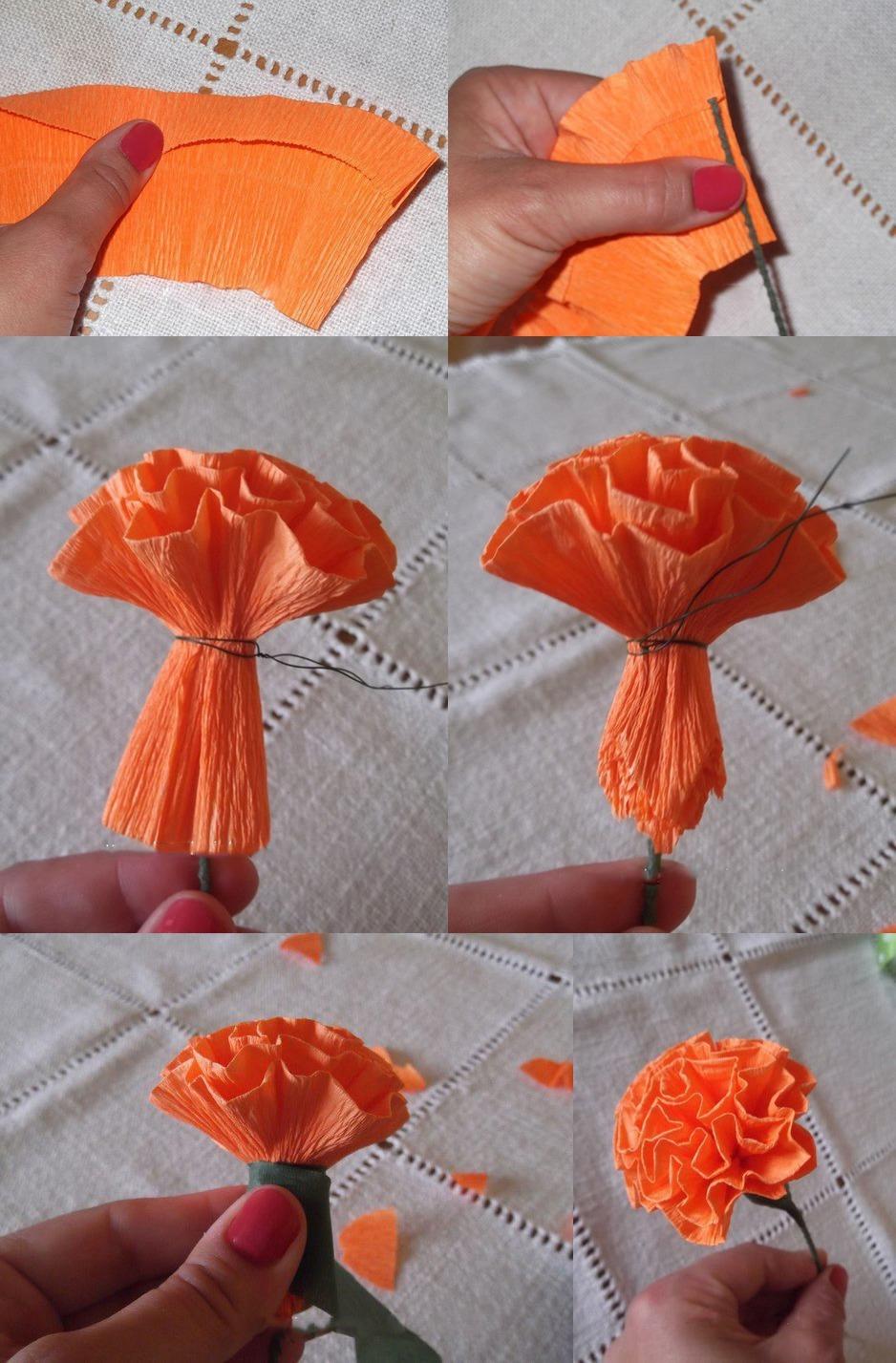 Как сделать огонь из цветов 199