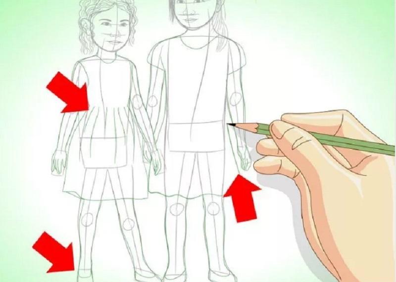 Как нарисовать маме рисунок в 8 лет