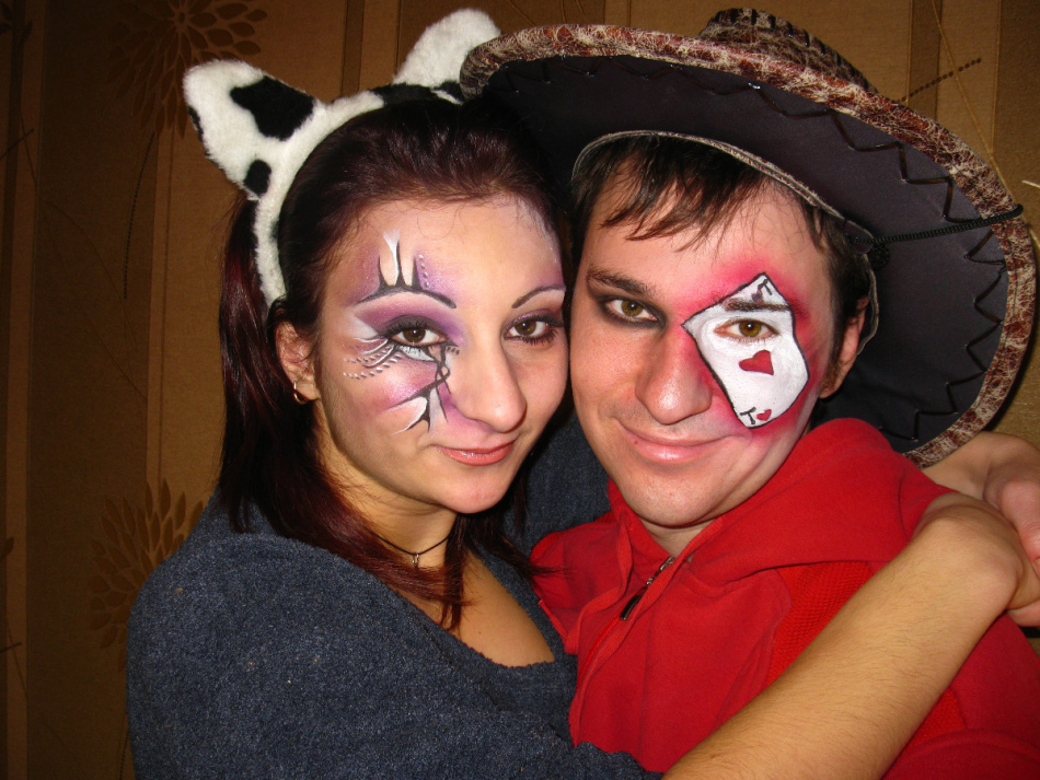 Грим на хэллоуин девушке фото
