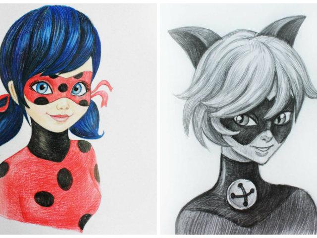 Картинки Леди Баг и Супер Кот