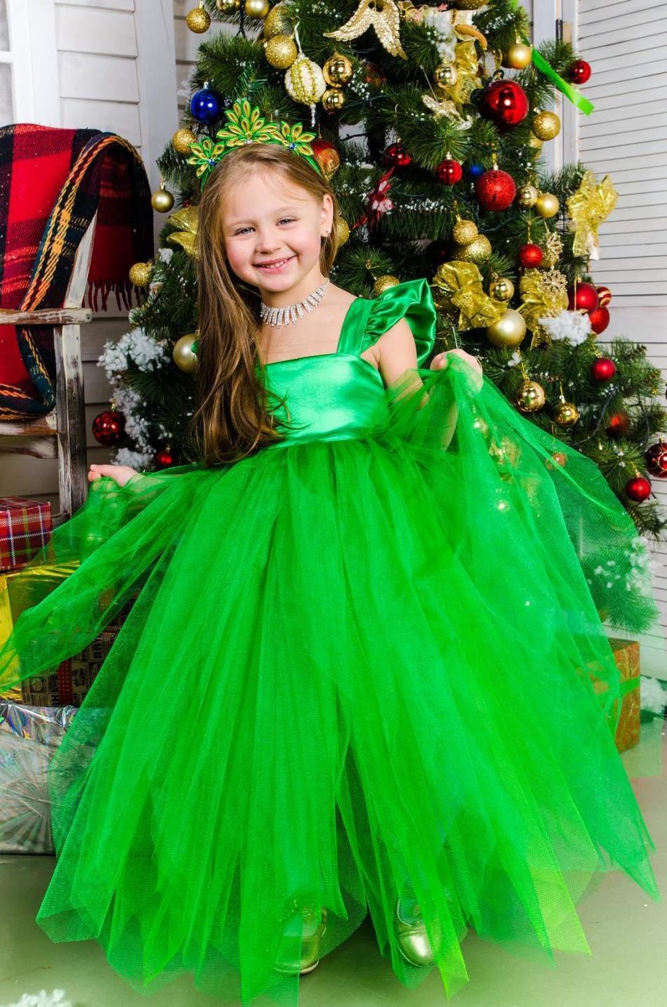 Как сделать своими руками костюм елочки для девочки